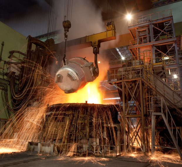 Iran's steel production rises by %32