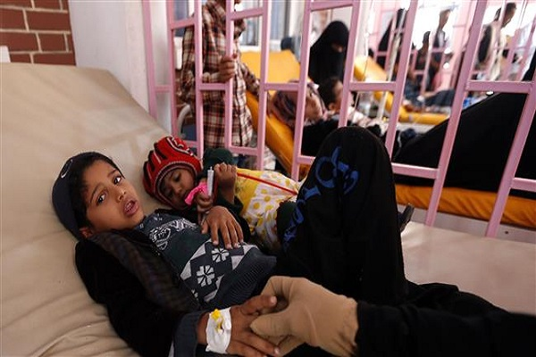 One Million Suspected Cases of Cholera in War-Torn Yemen