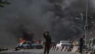 Afghan officials: 5 people killed in suicide attack in Kabul