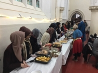 Muslims and Christians from Forest Gate unite to feed the homeless on Christmas Day
