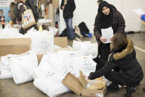 Croydon's Muslim community helping Grenfell victims this winter