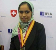 Iranian student grabs silver in S. Korean Olympiad