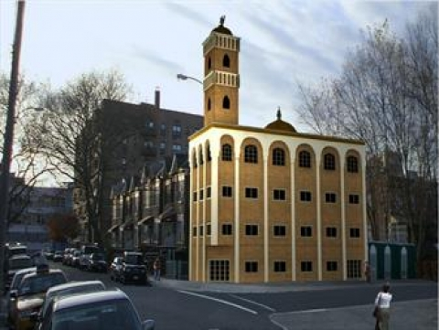 Construction of Five-story Mosque building in Switzerland